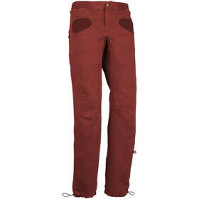 E9 Rondo Slim Trousers Men russet